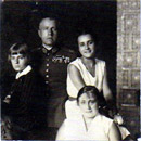 with family 1932